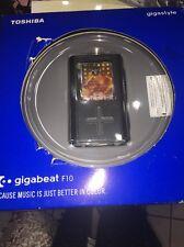 New Toshiba Gigabeat F10 digital media player