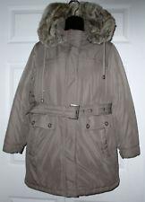 Ann Taylor Wm Beige/Tan Winter Jacket SP S Pet *Must C*