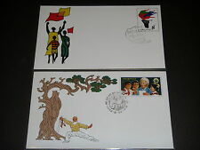 CHINA 1982 JF1 Namibia Day & JF2 World Assembly on Aging Stamped Envelopes VF