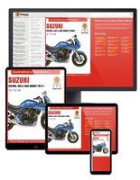 Suzuki GSF600, 650 & 1200 Bandit Fours (1995-2006) Haynes Online Manual