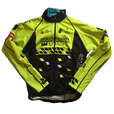 Men's 2018 Hincapie Racing Team Element eVent Thermal Jacket, Neon, Size S EUC
