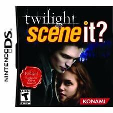 Scene It? Twilight For Nintendo DS DSi 3DS 2DS Game Only 2E