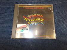 CD FRIDAY NIGHT IN SAN FRANCISCO.AL DI MEOLA/CHICK COREA/JOHN McLAUGHLIN.PHILIPS