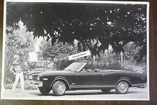 "1968 Mercury Montego MX convertible top down 12 By 18"" Black & White PICTURE"