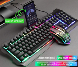 Computer Set Mechanical  Usb Keyboard and  Mouse FREE SHIPPING