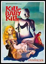 Kill Baby Kill -  Operazione Paura  Horror Movie Posters Classic Cinema