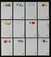 CANADA 2012 #2586-2597 Set of 12 Blank Picture Postage Frames Mint NH