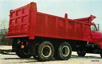 Advertising 1960s Boston New York Valley Truck Equipment Truck postcard 9297