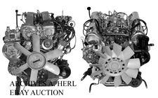 Mercedes-Benz S-Class W116 series 1973 engine photo factory press photograph