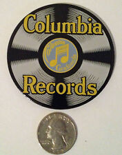 "NEW ""Columbia Records"" Porcelain on Steel MAGNET by Ande Rooney No longer made"