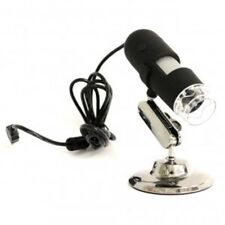FWS MICROSCOPIO DIGITALE USB 1.3 MEGAPIXEL ZOMM 400X 8 LED VIDEO FOTO PC