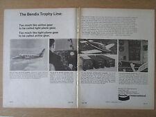 4/1968 PUB BENDIX AUTOMATIC FLIGHT CONTROL SYSTEM WEATHER RADAR COM/NAV AD