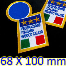 1x ITALY Soccer Iron on Patch Italian Football Federation Italiana Giuoco Calcio