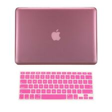 """2 in1 PINK Crystal Case for NEW Macbook Pro 13"""" A1425 Retina display +Key Cover"""