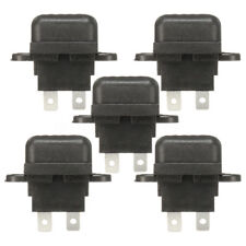 5x Black 30A Amp Auto Blade Standard Fuse Holder Box For Car Boat Truck & Cover