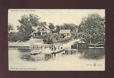 Cheshire CHESTER Eccleston Ferry Hold to Light pre1919 PPC