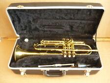 Vintage Buescher True Tone Brass Trumpet & Case