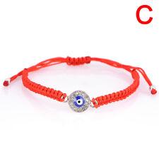 Handmade Red Rope String Bracelet Palm Eye Pendant Bracelet Thread Lucky LJ
