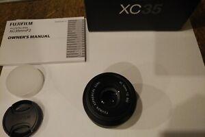 Fujifilm FUJINON XC 35mm f/2 Lens - Black