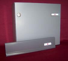 Briefkasten Innentür Set Renz grau 370 Kasten Briefeinwurfklappe KAH43