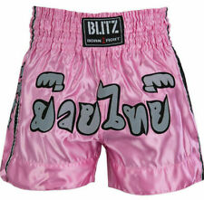 BLITZ MUAY THAI SHORTS - VARIOUS COLOURS AND SIZES