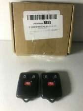 Set Of 2 - ECCPP Replacement Keyless Entry Remote Control Fob For Ford NIB