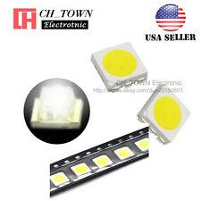 100pcs 5050 2020 White Light Plcc 6 Smd Smt Led Diodes Emitting Ultra Bright