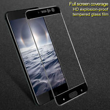 IMAK For HTC U11 Black Full Cover 9H Hardness Tempered Glass Screen Protector