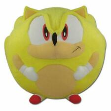 *NEW* Sonic The Hedgehog: Super Sonic 8-Inch Ball Stuffed Plush Doll by GE
