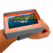 "Wrist 4.3"" HD 1080P AHD CCTV Camera Test LCD Display Monitor Tester DC 12V Outpu"