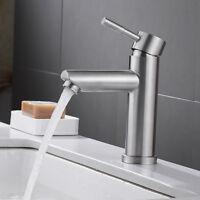 Badarmatur Waschtischamatur Einhebelmischer Hoch Wasserhahn Waschbecken Chrom