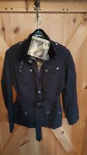 Barbour Gortex International Jacket.black.belted waterproif sz. U.S. Ladies 8