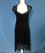 KERSH Black Lace Dress Size Med New with Tags!