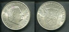 NIEDERLANDE ANTILLEN 1964 - 2 1/2 Gulden in Silber, vz - JULIANA