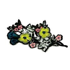 Sew/ Iron Patch Badge Fabric Bag Clothes Applique Craft Transfer P92 Pink spray