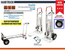 NK Heavy Duty 3-in-1 Convertible Hand Truck -Fully Assembled, Local Pickup Only