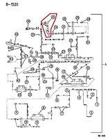 accelerator shaft insulator NOS 2128347 Mopar 1960-64 Dodge and Plymouth 6 cyl