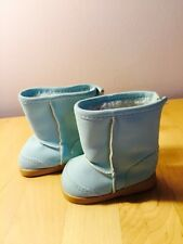 AMERICAN GIRL POWDER BLUE SEA SIDE BOOTS