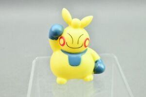 Pokemon Makuhita Finger Puppet Rubber Mini Figure Bandai