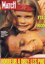 Couverture magazine,Coverage Paris-Match 29/07/83 Sarah fille de Romy Scheneider