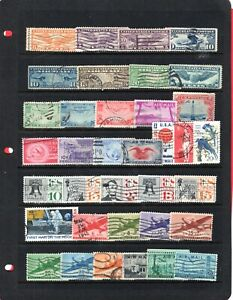 USA, Collection of air mails (5195