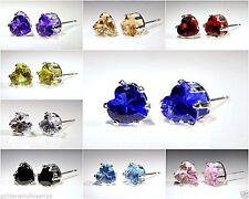 Markenlose Mode-Ohrschmuck aus Metalllegierung mit Herz-Schliff für Damen