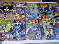 Marvel Captain America Lot 353 354 357 358 359 360 365 366 367 369 370 371 373