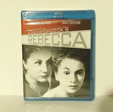 Rebecca (Blu-ray Disc, 2012) Alfred Hitchcock Cary Grant Fontaine New Region A