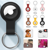 For Apple AirTag Case Cover Silicone Washable Tracker Carry Keychain Pet Collar