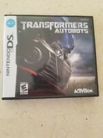 Transformers Autobots Nintendo DS