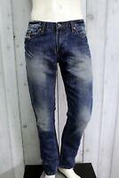 DIESEL Jeans Uomo Taglia 34 / 48 Pantalone Regular Cotone Pants Men Man Italy