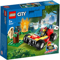 60247 LEGO City Fire Forest Fire 84 Pieces Age 5 Years+