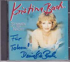 Kristina Stimmen Der Nacht  cd album gesigneerd