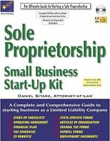 Sole Proprietorship : Small Business Start-Up Kit Hybrid Daniel Sitarz